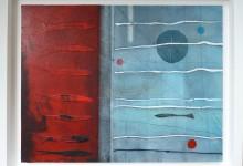 Three buoys – 45cm x 35cm – SOLD