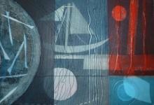 Night fishing – 35cm x 25cm – oil & acrylic on canvas board – SOLD