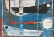 Sea farer. 25 x 20cm. Oil and acrylic on canvas board. Available