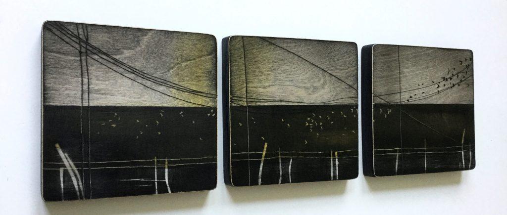 Murmuration - Triptych
